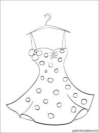 Kleurplaat Dress Google Zoeken Tiffany Patronen Jurk Zomer