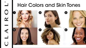 how to find the best hair color for your skin tone clairol