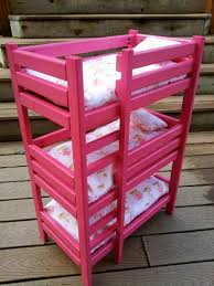 triple american girl doll bunk bed