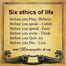 Famous Quotes About Morals And Ethics