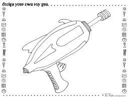 Coloring Pages Nerf Gun Coloring Page Free Printable Coloring Pages