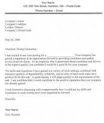 Email Cover Letter Sample Canada Ameliasdesalto Com