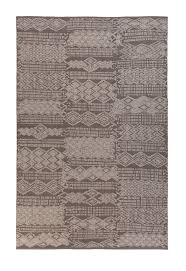 A topshot of 'Outsider - Chocolate Grey' by Limited Edition. Outsider is  made out of woven vinyl and suitable for both in- and outdoor use.