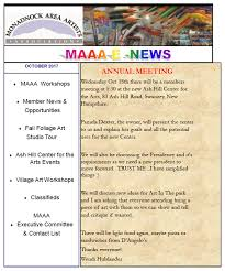 october newsletter ideas maaa e news october 2017 maaa news