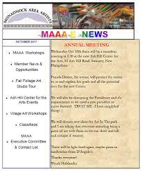 october newsletter ideas maaa e news october 2017 maaa news