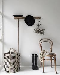 Oak Coat Rack With Baskets Timber coat hook rail in oak 100 pegs Coat hooks Coat pegs and 62