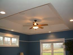 tray ceiling lights reflect the surface for the perfect look
