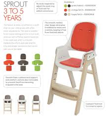 oxo tot sprout chair  agape babies singapore