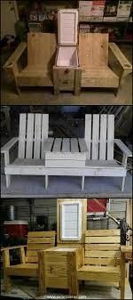 pallet outdoor furniture plans. 20 Plans For Recycled Pallet Furniture | Ideas By Outdoor
