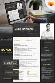 Craig Hoffman Backend Developer Resume Template 65246