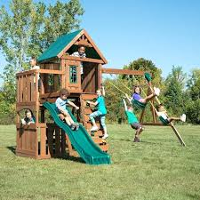 childrens swing set wooden play swing set outdoor swing set accessories for