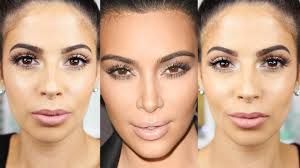 kim kardashian makeup tutorial 2016 glowing skin