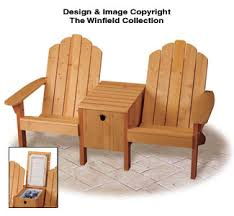 twin adirondack chair plans. Cowboy Cooler/Twin Seater Plans Twin Adirondack Chair Plans N
