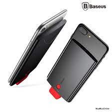 Ốp Lưng Tích Hợp Pin Sạc Dự Phòng Baseus Cho Iphone 6/ 7/ 8/ Iphone X  4000Mah
