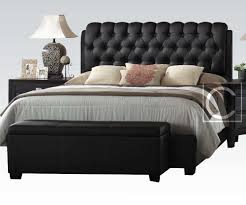 king size head board awesome king size button tuff plush headboard black leather frame in