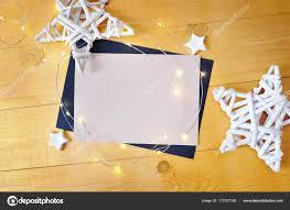Weihnachten Hintergrund Kraft Blatt Papier Mit Platz Für