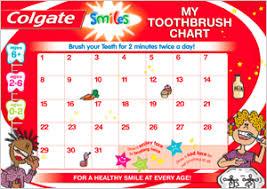 70 Memorable Tooth Brush Chart