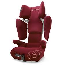 concord transformer t group 2 3 isofix car seat bordeaux red