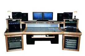 studio desk for home recording awesome your decorating ideas mixing console