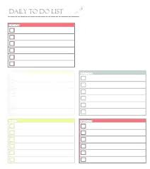 Daily To Do List Examples Master Task List Template Allthingsproperty Info
