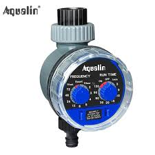 garden hose timer. Interesting Timer Electronic Water Hose Timer Garden Irrigation Controller Two Dial Color Blue In R