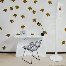 mapple leaf pattern wall decal pattern