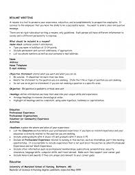 it resume objective example template work writing for good great nursing resume objective statement