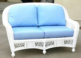 white wicker couch sectional outdoor sofa