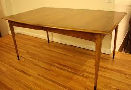 lane mid century modern coffee table mid century modern lane dovetail dining table 15