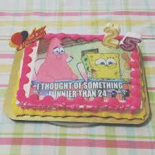 Kids Birthday Cakes Spongebob Birthday Cake 25