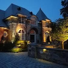 Evergreen Outdoor Landscape Lighting Beauty Outdoor Lighting Design