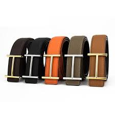 <b>H Designer Luxury Brand</b> Belts For Mens Genuine Leather Male ...