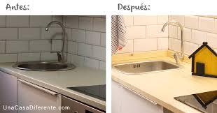 High Quality Cambiar Encimera De Cocina Sin Obras Antes Y Después