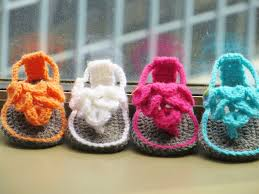 Crochet Baby Sandals Pattern New Crocodile St Baby Sandals Or Booties Crochet Pattern 4848 Months