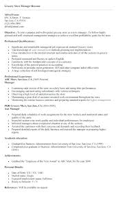 Sample Resume For Retail Manager Download Sample Resume Retail