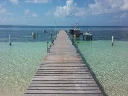 フリー写真画像 ビーチ空水夏海海岸風景海桟橋