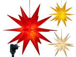 3d Leuchtstern Mit Led Beleuchtung Weihnachtsstern Mit Timer