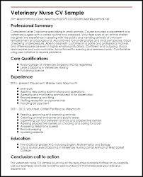 Nursing Job Resume Sample For Nurses Nurse Curriculum Vitae Rn