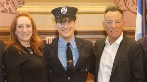 <b>Bruce Springsteen's</b> son sworn in as New Jersey firefighter | Ents ...