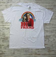 Pacsun Size Chart Mens Mister Rogers Pacsun Mens Sz Xl Hi Friend Rainbow Henriette Cat T Shirt New