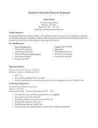 It Intern Resume Unique Internship Resume Format Dewdrops