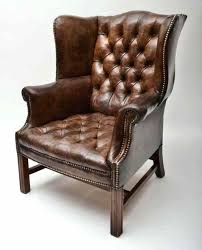 tufted leather wingback chair tufted leather chair red leather tufted wing chair
