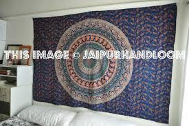 hanging beach towel. Elephant Mandala Tapestry Wall Hanging Hippie Tapestries Beach Towel-Jaipur Handloom Towel M