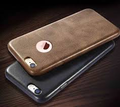usams apple iphone 6 plus 6s plus ultra thin elegant logo display grained leather case back cover