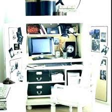 home office desk armoire. Black Office Armoire Home Desk Bedroom Wardrobe Closet  Computer