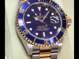 rolex oyster perpetual submariner date mens watch 16613 blso rolex oyster perpetual submariner date mens watch 16613 blso