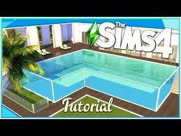 sims 4 glass pool tutorial no cc