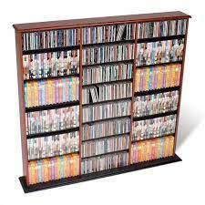 prepac 51 triple cd dvd wall media