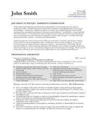 17 best images about best project coordinator resume templates regarding project  coordinator sample resume - Sample