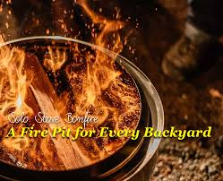 solo stove bonfire a fire pit for every backyard